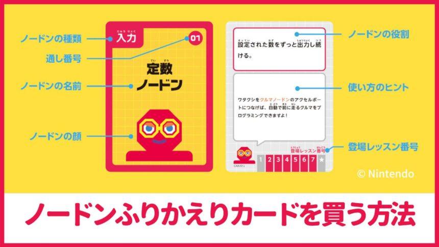 ノードンふりかえりカードの購入方法【ナビつき!つくってわかる はじめてゲームプログラミング】