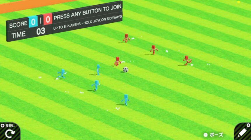 Super Kickaboutのゲーム画面