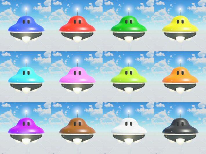 UFOノードンの全カラー